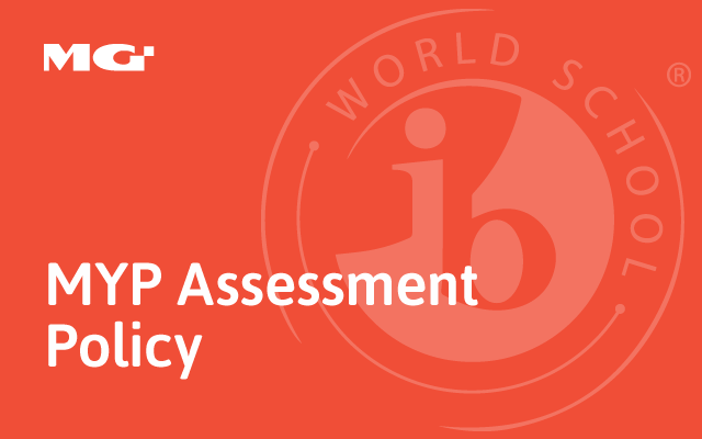 MYP Assessment Policy