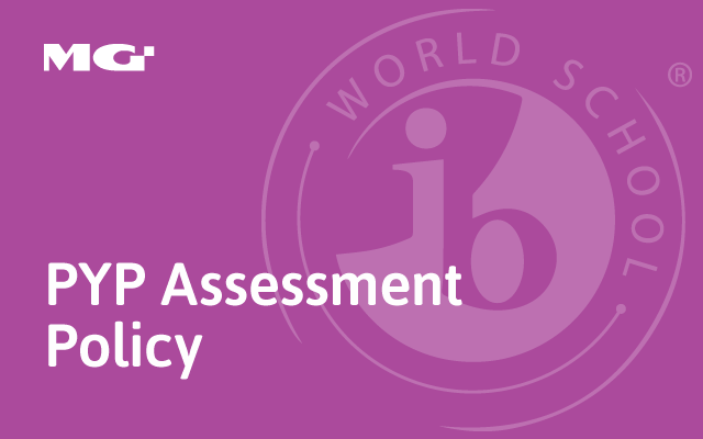 PYP Assessment Policy